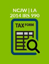 2014 IRS 990