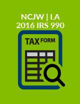2016 IRS 990