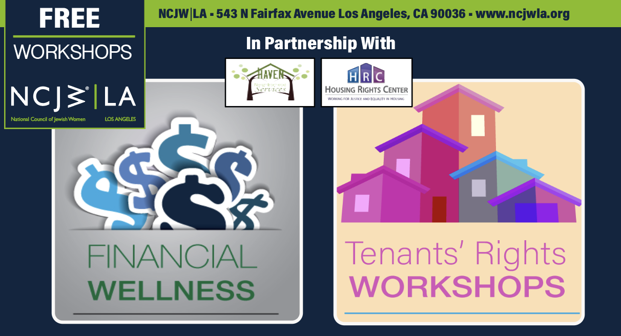 Free Workshop! Learn about your rights as a renter.