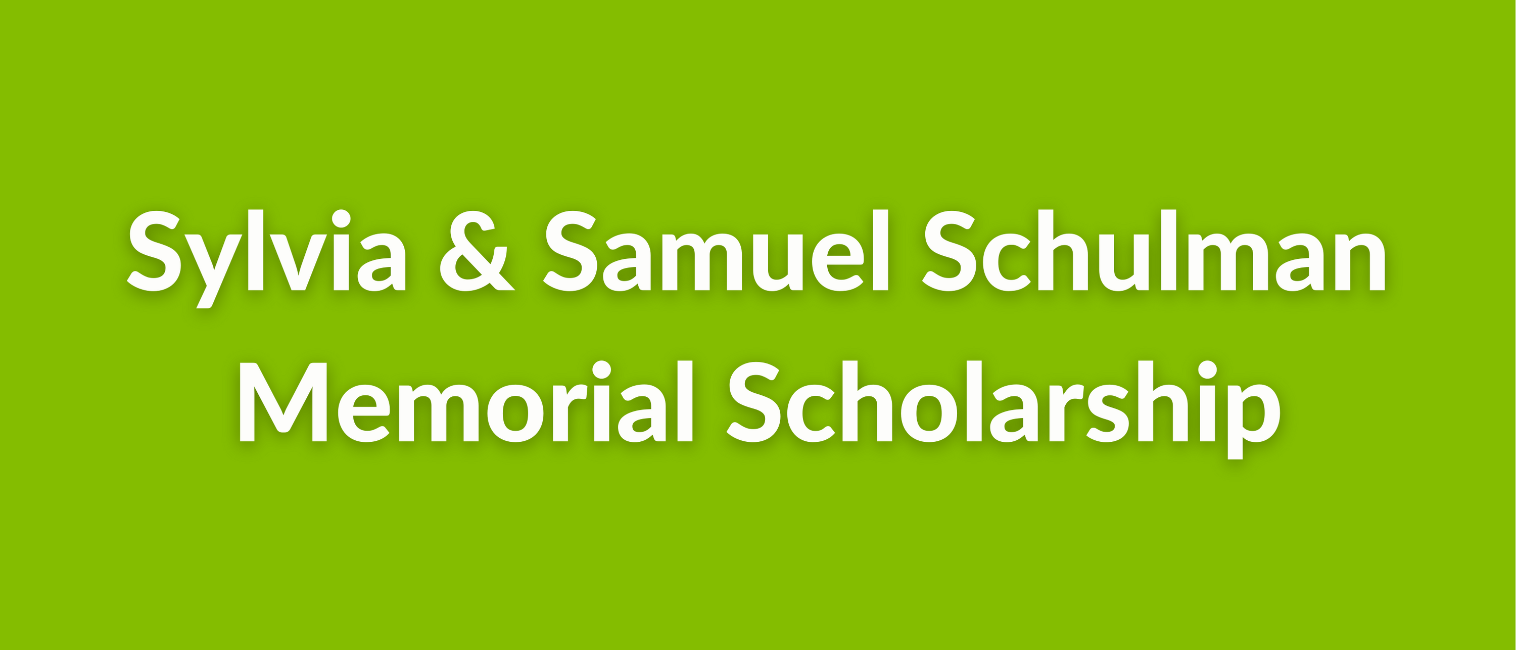 The Edith Lawrence and Frances Lawrence Teller Vocational Student Scholarship (10)