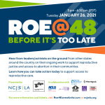 ROE @ 48 - Before It's Too Late