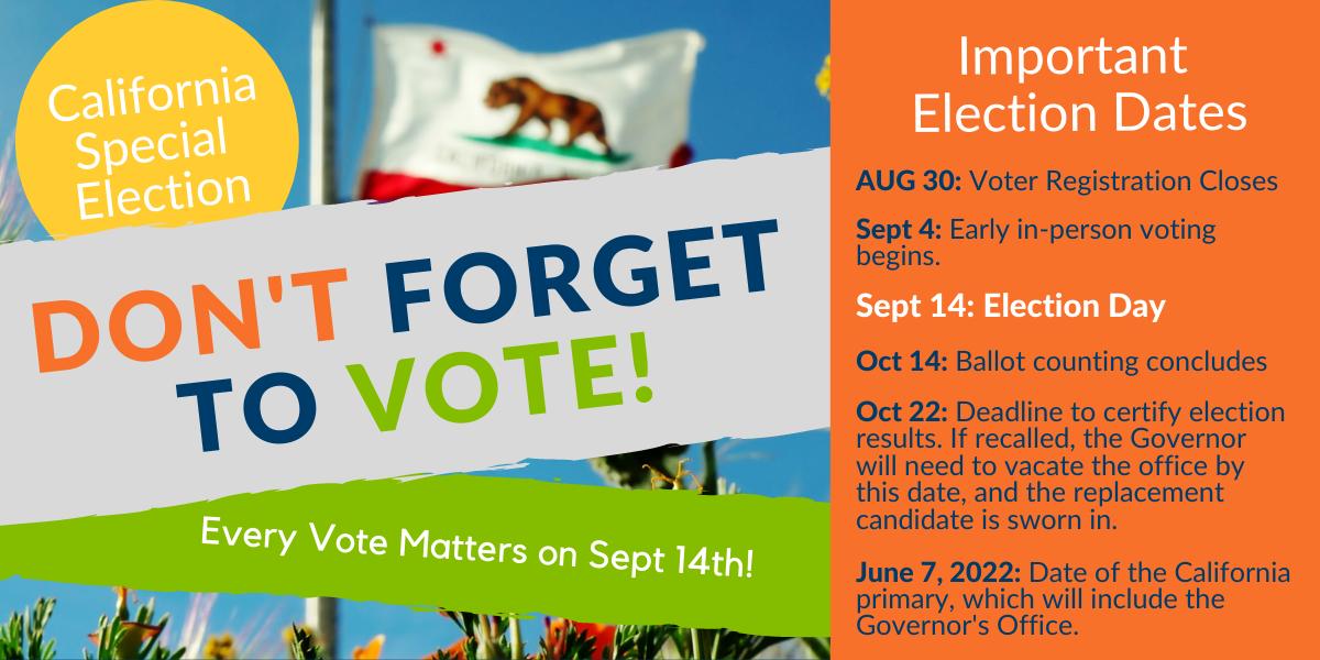 California Recall Election 2021